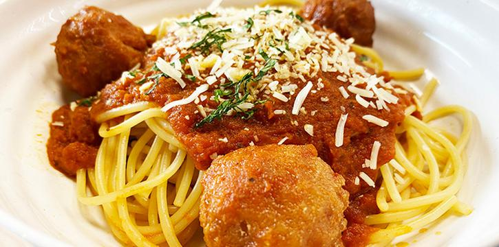 Chicken Meatball Pasta from JTSH Cafe in Orchard, Singapore