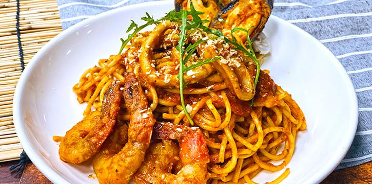 Seafood Marinara from JTSH Cafe in Orchard, Singapore