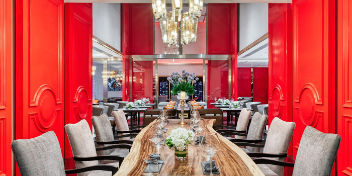 Ambience of The Allium Bangkok at The Athenee Hotel, A Luxury Collection Hotel 61 Wireless Road, Lumpini, Pathumwan Bangkok