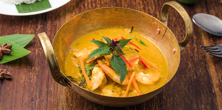 Coconut Prawn Curry from Folks Collective - The Eclectic Emporium (AXA Tower) in Tanjong Pagar, Singapore