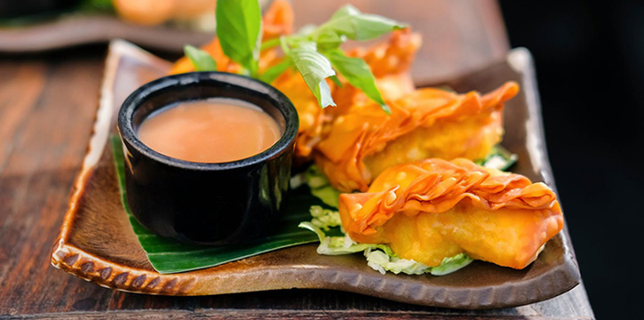 Fried Prawn at Ginger Moon in Seminyak, Bali