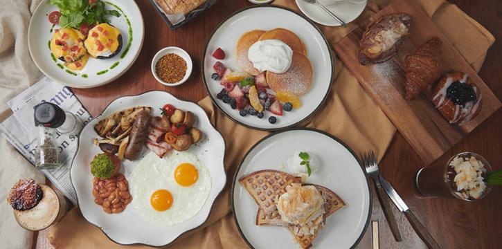 Breakfast Menus from Bangkok Trading Post Bistro & Deli at 59/1 Sukhumvit Soi 39 Klongton-Nua, Wattana Bangkok