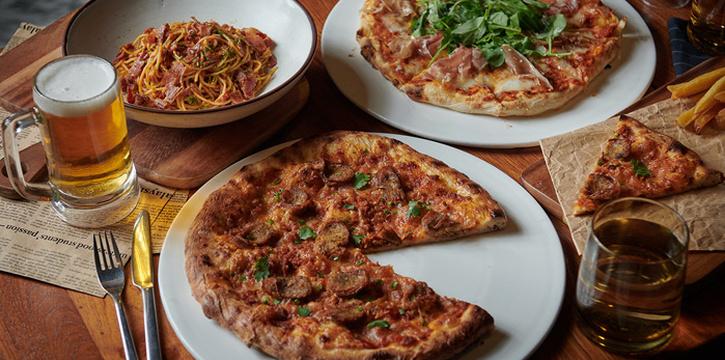 Pizzas & Pasta from Bangkok Trading Post Bistro & Deli at 59/1 Sukhumvit Soi 39 Klongton-Nua, Wattana Bangkok