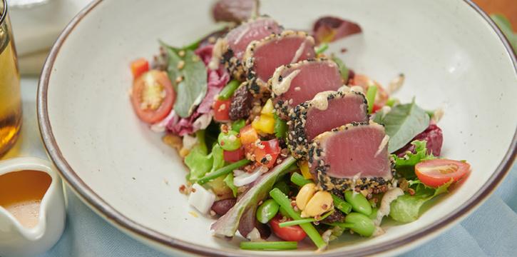 Tuna Tataki Salad from Bangkok Trading Post Bistro & Deli at 59/1 Sukhumvit Soi 39 Klongton-Nua, Wattana Bangkok