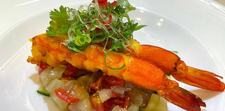 Asian Prawn Salad from Amber West in Choa Chu Kang, Singapore