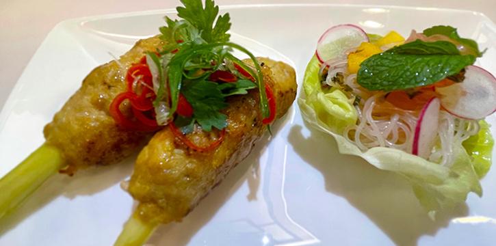 Lemongrass Chicken Skewers from Amber West in Choa Chu Kang, Singapore