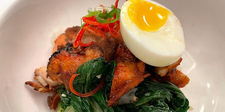 Hong Kong Char Siew Chicken from Amber West in Choa Chu Kang, Singapore