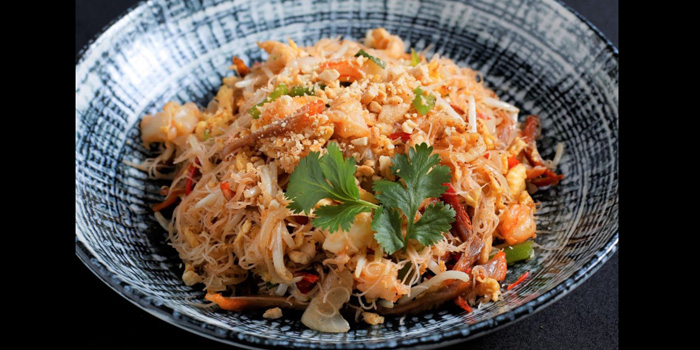 Fried Noodle from The Silk Road at The Athenee Hotel, A Luxury Collection Hotel 61 Wireless Road, Lumpini, Pathumwan Bangkok