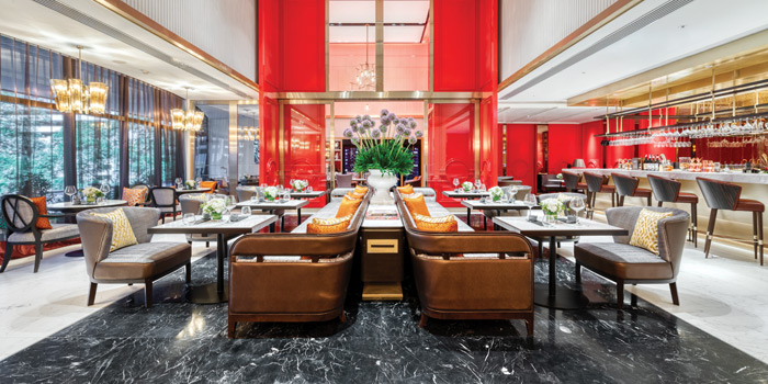 The Dining Area of The Allium Bangkok at The Athenee Hotel, A Luxury Collection Hotel 61 Wireless Road, Lumpini, Pathumwan Bangkok