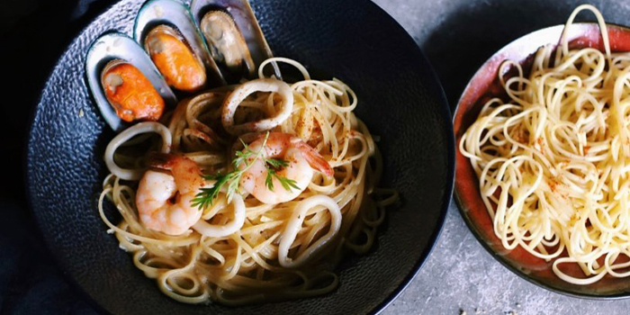 Seafood Pasta from The Communal Place in Marine Parade, Singapore