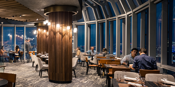 Interior of FIRE @ 1-ATICO at ION Orchard in Orchard, Singapore