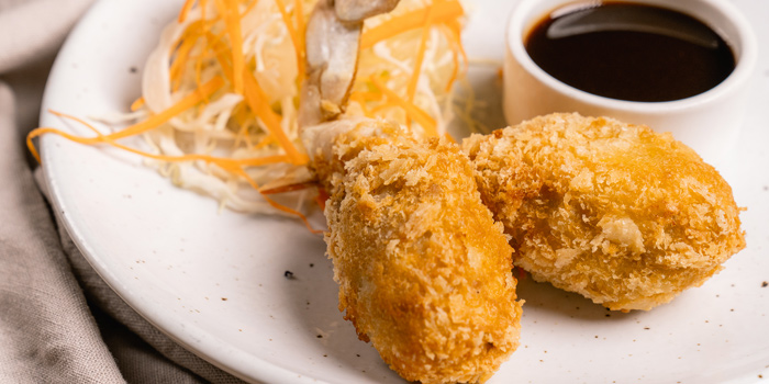 Appetizer Dishes from Riverside Grill at Royal Orchid Sheraton Hotel & Towers, Bangkok