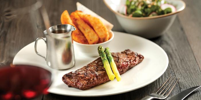 Linz Flat Iron Steak with Super Greens, Flint, Admiralty, Hong Kong