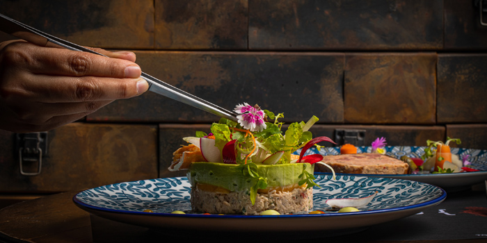 Alaskan-King-Crab-Salad from Scarlett Wine Bar & Restaurant at Pullman Bangkok Hotel G 37th Floor, 188 Silom Rd, Bangrak, Bangkok