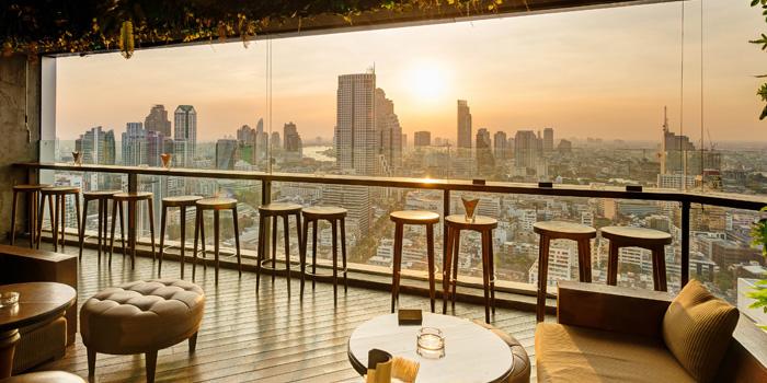 Ambience of Scarlett Wine Bar & Restaurant at Pullman Bangkok Hotel G 37th Floor, 188 Silom Rd, Bangrak, Bangkok