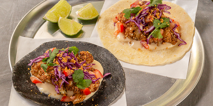 Cauliflower Taco from Raw Kitchen Bar in Kallang, Singapore