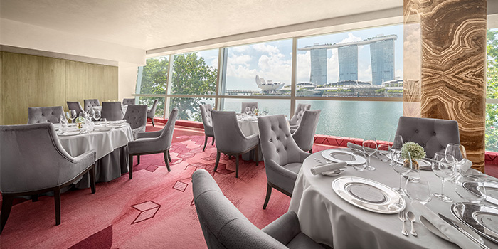 Dining Room from Saint Pierre in One Fullerton in Raffles Place, Singapore