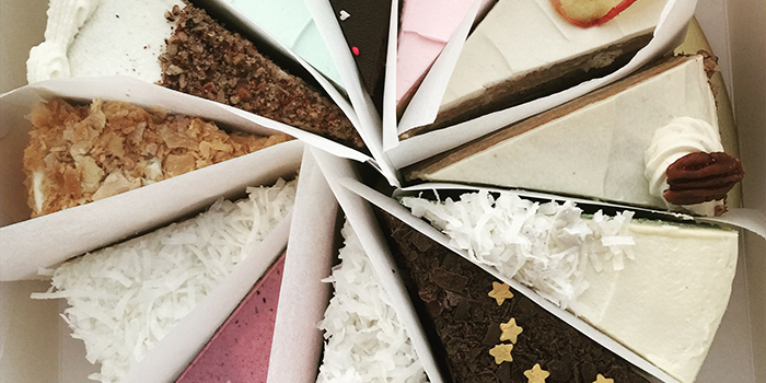 Assorted Cakes from The Fabulous Baker Boy at Aliwal Arts Center in Bugis, Singapore