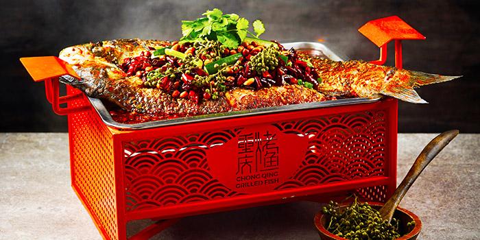 Signature Fish from Chong Qing Grilled Fish (Bugis) in Bugis, Singapore