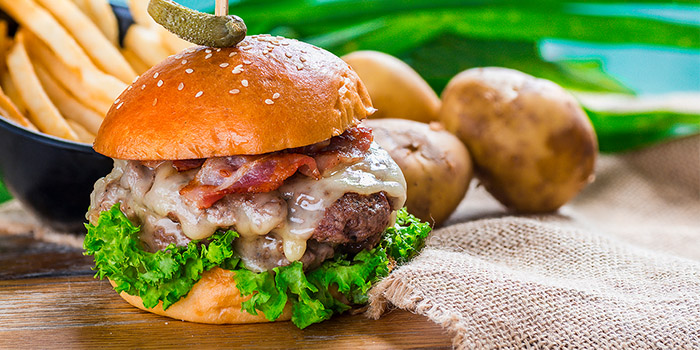 Grub Double Cheeseburger from GRUB in Ang Mo Kio, Singapore