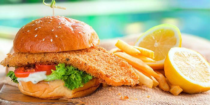 Grub Fish Burger from GRUB in Ang Mo Kio, Singapore
