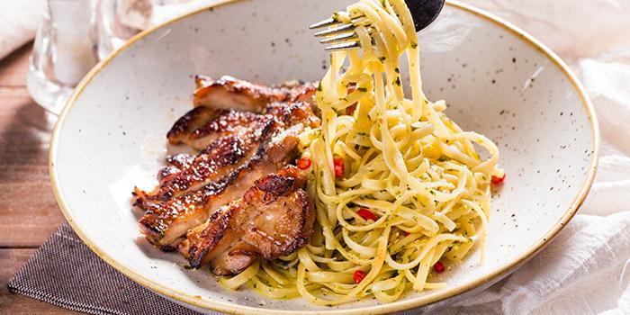 Grilled Chicken Pesto Pasta from GRUB in Ang Mo Kio, Singapore