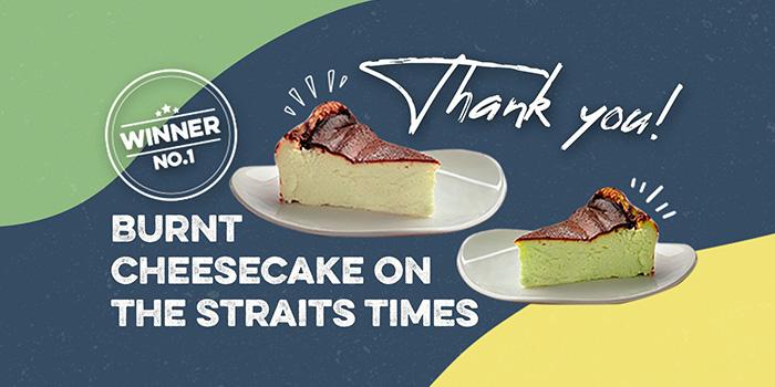 Cheesecake from GRUB in Ang Mo Kio, Singapore