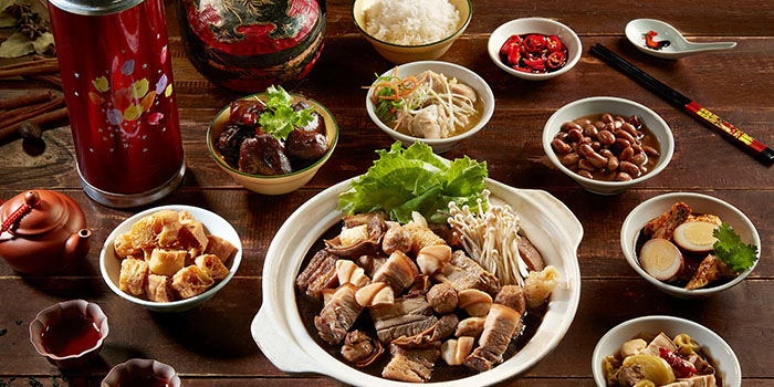 Herbal Bak Kut Teh from Four Points Eatery at Sheraton Singapore Riverview in Robertson Quay, Singapore