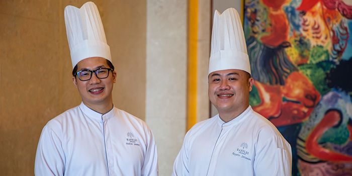 The Chefs at The Dining Room at Raffles Jakarta