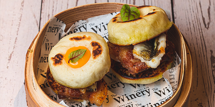 Pork & Eel Bao from The Winery Tapas | Bar in City Hall, Singapore