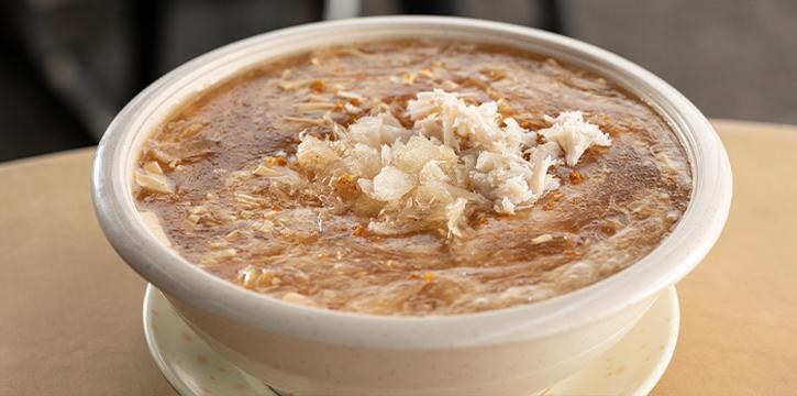 Crab Meat Fish Maw Soup from 7 Wonders Seafood @ Jalan Besar in Jalan Besar, Singapore