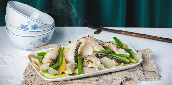 Ginger Spring Onion Fish from 7 Wonders Seafood @ Jalan Besar in Jalan Besar, Singapore