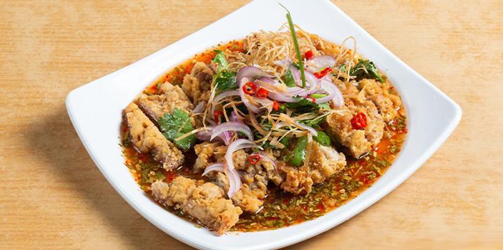 Thai Style Chicken from 7 Wonders Seafood @ Jalan Besar in Jalan Besar, Singapore
