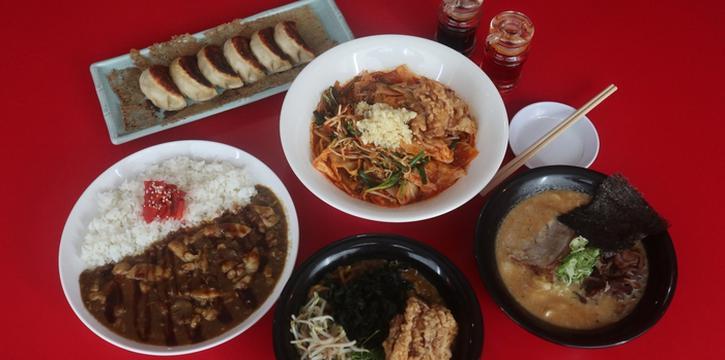 Assorted Dishes at Yoiko Ramen