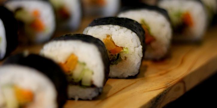 Sushi at Canting