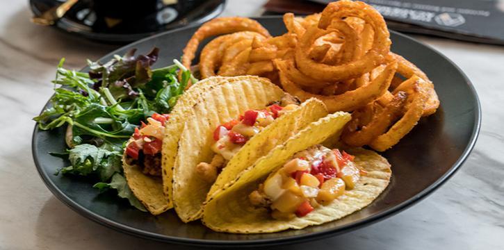 Crispy Fish Fillet Tacos from The Coffee Academics (Millenia Walk) at Millenia Walk in Promenade, Singapore