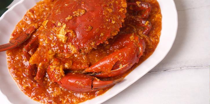 Signature Chilli Crab from 7 Wonders Seafood @ Jalan Besar in Jalan Besar, Singapore