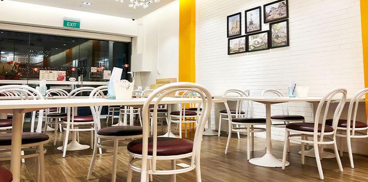 Interior of 7 Wonders Seafood @ Jalan Besar in Jalan Besar, Singapore