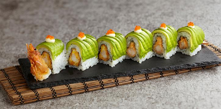 EN Dragon Roll from En Dining at Capital Tower in Tanjong Pagar, Singapore