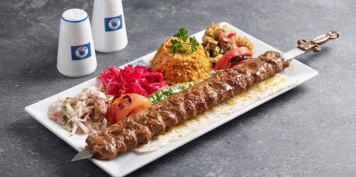 Adana Kebab from Sofra Turkish Cafe & Restaurant in Bugis, Singapore