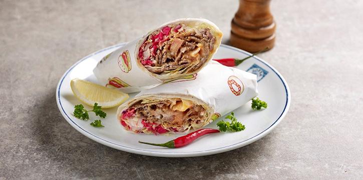 Doner Kebab Roll from Sofra Turkish Cafe & Restaurant in Bugis, Singapore