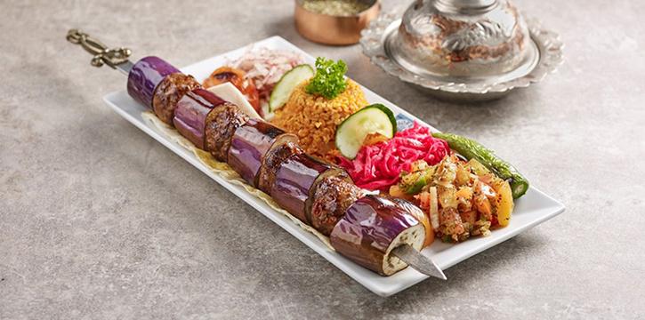 Eggplant Kebab from Sofra Turkish Cafe & Restaurant in Bugis, Singapore