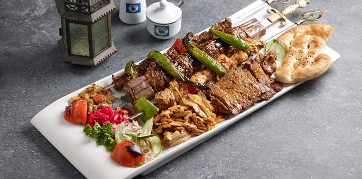 Jumbo Kebab from Sofra Turkish Cafe & Restaurant in Bugis, Singapore