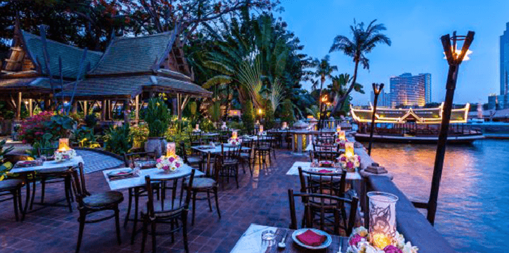 Atmosphere of Thiptara at The Peninsula Bangkok