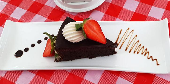 Chocolate Cake from Bread, Beer & Brez