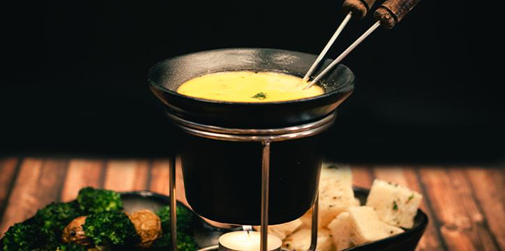 Cheese Fondue from Tea Villa Cafe in East Coast, Singapore