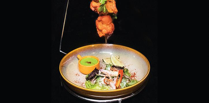 Adde Da Chicken Tikka from ADDA at Diners Club Building in Bugis, Singapore