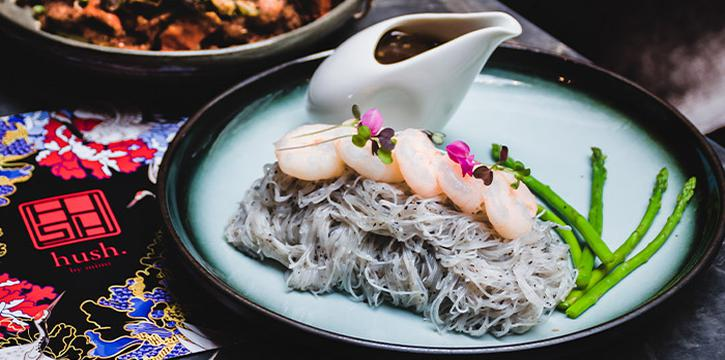 The Unsubtle Truffle Mein from HUSH by Mimi in Clarke Quay, Singapore