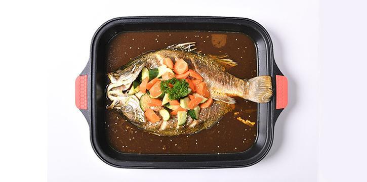Beijing Soy Sauce Flavor Barramundi Fish from SEA Chuan KungFu Fish at Marina Square in Promenade, Singapore