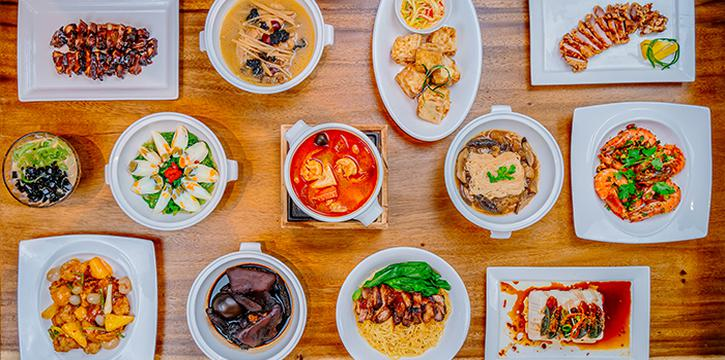 Assortment Dishes from Tang Chao @ One Bowl at The Sultan in Bugis, Singapore